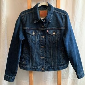 Levis Original Trucker Jean Jacket (never worn)